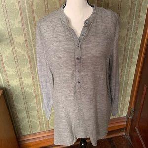 J.Jill Linen Tunic Shirt